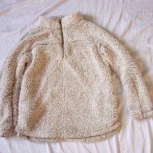 Miami Extra Soft Faux Sherpa Sweater Sz M